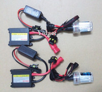Wholesale Wholesale Hid Conversion Kits - Free Shipping HID Xenon Kit H1 H3 H7 H8 H9 H10 H11 9005 9006 880, Can be Mixed Models