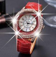Wholesale gogoey quartz - GoGoey Brand Relogio Feminino Women Dress Watch Women Rhinestone Casual Watches Bracelet Analog Quartz Watch Reloj Mujer