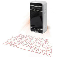 Wholesale Notebook Products - New product Magic cube wireless virtual laser keyboard via bluetooth for notebook,mobile phone,macbook pro,tablet PC computer,notebook