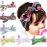Wholesale Diy Flower Hair Band - 6stylesBaby DIY flower headband Kids girl boy Christmas deer snowflake pattern headwear girl floral Princess fashion Hair Band