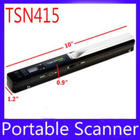 Wholesale Handy Scans - Handy A4 documents Scanner TSN415 Color scan 5PCS LOT free shipping