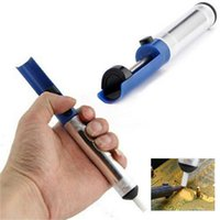 Wholesale 1pc Solder Sucker Desoldering Pump Tool Removal Vacuum Soldering Iron Desolder Newest