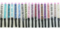 "Wholesale Sparkly Sports Headbands - Hot Mix 3 4""40pcs Glittery Headband Glitter Stretch Sparkly Softball Sports Headband"