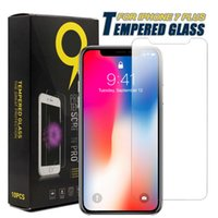 Wholesale Tempered Glass For Coolpad - For Iphone X Tempered Glass Screen Protector Film 0.26mm 9H For Iphone 8 Plus Coolpad Catalyst With Retail Package
