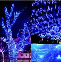 Wholesale Cheap Blue Christmas Tree - 10M Outdoor String Decoration Light 110V 220V For Party Wedding Led Twinkle Lighting Growing Light Christmas Promoton Sale Cheap Free DHL