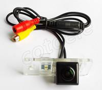 Wholesale Audi A6 Tv - CMOS MICRON 9V139 HD 600 TV lines car rear view camera for AUDI 2009-2011 A6L A3 A4 Q7 S5 camera car parking
