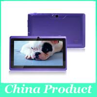 ingrosso schermo esterno q88-7 pollici A33 Q88 ALLwinner quad core Phablet Android 4.4 Schermo capacitivo 3G esterno A33 chiamata telefonica 4GB Wifi Cinque colori 002609