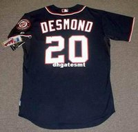 Billig Authentisch Cool Base Jersey Kaufen -Günstige benutzerdefinierte Ian Desmond Washington Nationals Majestic