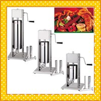 Wholesale Stainless Steel Enema - sausage stuff equipment 5L stainless steel vertical enema machine sausage machine commercial enema machine CE certification