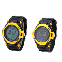 Digitale LED Armbanduhr Compass Time Alarm Modus-wasserdichte Thermometer Unisex Multifunktions Outdoor-Sport-Uhr-Armbanduhr
