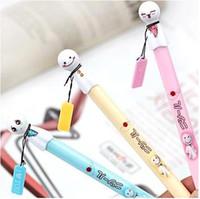Wholesale Princess Sign - kawaii cute cartoon style gel pen for students prize   creative sign gel-ink pen as baby girl princess gifts 6pcs lot ARC92