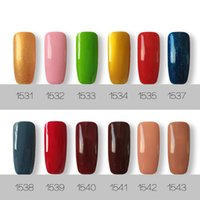 Wholesale newest gel nails - 12PCS Harmony Gelish Newest high quality soak off led uv gel polish nail gel lacquer varnish