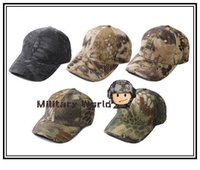 Wholesale Airsoft Adjustable - 5 Colors Unisex Fashionable 2014 Airsoft Tactical Chief Adjustable Baseball Cap Military Army Combat Men's Hat Free Shipping ^ order<$18no t