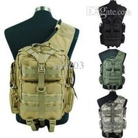 Wholesale Shoulder Bag Brown Molle - Wholesale- High quality 1000D Tactical Molle Hydration Hand Shoulder Bag Backpack