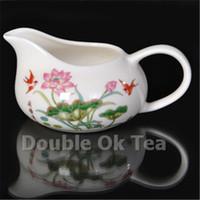 Wholesale Cheap Novelty Items Wholesale - Wholesale-Fine Bone China Ceramic Gongdao Bei Tea cup For Porcelain Tea Set Cheap Chinese Tea Cups Novelty Items Japanese Style Wholesale