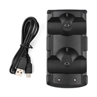 Wholesale Move Power Charger - Dual Charging USB Powered C For Sony Playstation 3 For Sony PS3 Controller and Move Navigation Charger