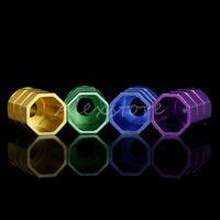 Wholesale Octagon Atomizer - 50pcs Octagon Drip Tips Aluminum Drip Tip Colorful Wide Bore DripTip for 510 thread RDA RBA Atomizer Mouthpieces Ecig Vape 2016 E cig