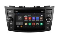 Android 7.1 Car DVD Player Navegación GPS para Suzuki Swift 2011 2012 2013 con Radio BT USB AUX Audio Video Stereo