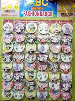 Wholesale Anime Pin Sets - Re Life in a different world from zero Rem Ram 4.5 CM lot set PIN BACK BADGES BUTTONS NEW FOR PARTY CLOTH BAG GIFT ANIME CARTOON COLLECTION
