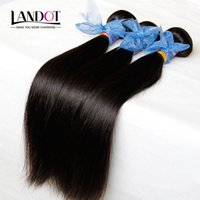 Wholesale Tangle Free Weave Cheap - 3Pcs Lot Filipino Virgin Hair Straight Unprocessed Virgin Filipino Hair Extensions Cheap Remy Human Hair Weaves Bundles Tangle Free Can Dye