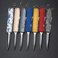Wholesale Mini Mi - Newer Recommend mi mini folding knife 7 modles Hunting Folding Pocket Knife Xmas gift for men copies 1 pcs freeshipping