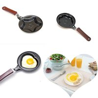 Wholesale Wholesale Kitchen Housewares - Wholesale-5pcs lot Various Lovely Mini Non Stick Egg Frying Pan Cook Kitchen Pot Housewares Fry Pan Egg Mould Wholesale Free Shipping