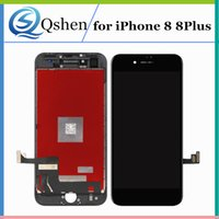Wholesale Check Apple - For iPhone 8 8Plus Lcd Display Touch Screen Digitizer Complete with Frame One by One Checked