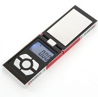 Wholesale Digital Scales Wholesale - (with batteries) 100g x 0.01g Digital Pocket Scale Balance Weight Jewelry Scales Case scales 50pcs