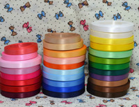 Wholesale grosgrain ribbon 9mm for sale - Group buy 250yards Double Sided Faced Satin Ribbon Grosgrain Ribbon MM