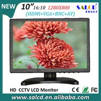 Wholesale 10 inch led monitor with x800 HD IPS panel for Industrial