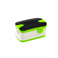 sports pulse oximeter - Sports Style OLED display pulse rate heart monitor Fingertip digital Pulse Oximeter SpO2 Green