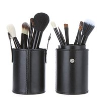 Wholesale Makeup Brush Cup Case - 2015 Valentine Makeup brushes 12pcs set 4 colors party brushes cup&case nude makeup brush set cosmetic high quality makeup brushes