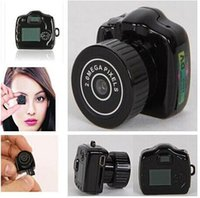 Wholesale Top Mini Dvr - Best ! Pocket Mini Camcorder Video DVR Covert Camera DV, Mini Hidden Camera, Y2000 Smallest Mini DVR in The World top sale free shipping