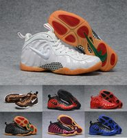 2017 New Air Hommes penny hardaway Basketball Chaussures mousses formateurs Pas Cher Or Pro en Polaire Mens Sport Sneakers foamposite chaussures 8-13