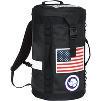 Wholesale Flag Canvas - 17ss Sup USA Flag Big Haul Backpack Outdoor Backpack Men & Women Sports Rucksack High Quality Nylon Backpacks Unisex Street Backpack