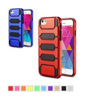 Wholesale Rocket Shells - Hybrid SGP Rocket Case Soft TPU+Hard PC Back Cover Shell Double Layer Shockproof For iPhone 6 4.7 6Plus 6 Plus 5.5