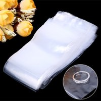 Wholesale Jewelry Pouches Zip - 100pcs Resealable Plastic Seal Zip Lock Bags Transparent Clear Poly Bag 5cmx7cm
