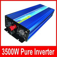 Wholesale Home Power Inverter - 3500w inverter pure sine wave max 7000w power DC 12V 24V 12V 110V to AC100V-240V 50Hz 60Hz for solar wind home use