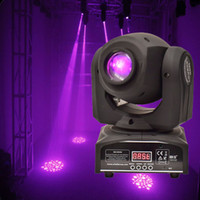 Wholesale Gobo Spot - Wholesale- 30W Gobo Spot Moving Head Light LED Moving Head Spot Stage Lighting Disco Light Professional Stage & DJ DMX Stage Light