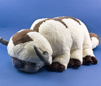 Wholesale rare soft toys - cm AVATAR Last Airbender APPA Stuffed Plush Doll Large Soft Toy RARE New