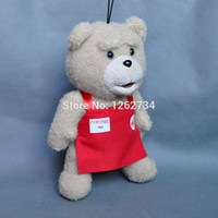 Wholesale Ted Movie Wholesale - Wholesale-Free Shipping Cute Genuine Cartoon Movie Teddy Ted Bear Plush Doll Toy 8""