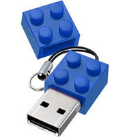 Wholesale Usb Thumb Drive 2gb - 2016 China Lego brick building block 2GB 4GB 8GB 16GB 32GB 64GB 128GB 256GB USB 2.0 pendrive thumb drive for tablet PC