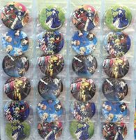Fate Stay Night pin badge 24 pcs / lot 5.8 cm nouvelle Cartoon Anime goupille BOUTONS PARTY SAC CADEAU TISSU
