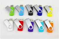 Wholesale Real Capacity Usb Flash Drive - Hot DHL Real for capacity 64GB USB 2.0 Flash Memory Pen Drive Sticks Drives Pendrives 64GB Thumbdrives 50pcs