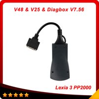 Wholesale Diagbox Software - Lexia-3 Lexia3 V48 PP2000 V25 XS Evolution Diagnostic Tool For Peugeot And Citroen With Diagbox V7.56 Software free shipping