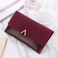 Wholesale ladies cell phone money wallets for sale - Group buy Women Wallets Brand V Lady Handbags Moneybags Zipper Coin Purse Woman Envelope Wallet Money Cards ID Holder Bags Purses Pocket