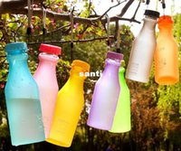Wholesale Travel Plastic Cups Camping - New Arrive Unbreakable Sport Travel Water Bottle Portable Leak-proof Cycling Camping Cup