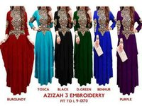 Wholesale OEM muslim dress abaya Slim Fit Pleated Embroidery Muslim Clothing kaftans for Woman Abaya Jersey