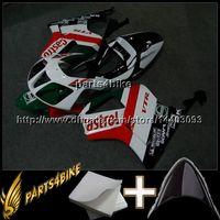honda rc51 motosiklet parkurları toptan satış-23 renkler + Hediyeler KıRMıZı BEYAZ karoser HONDA VTR1000 SP1 RC51 için kaporta 2000 2001 2002 2003 2004 2005 2006 00-06 ABS Plastik Fairing