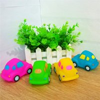Wholesale Classic Car Years - HOT Sale MINI Cars Rubber Baby Bath Water Toys Safety Sounds Color Kids Swiming Beach Gifts Sand Play Water Fun Kids Toys SK584